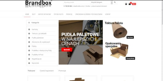 Sklep Brandbox Skawina