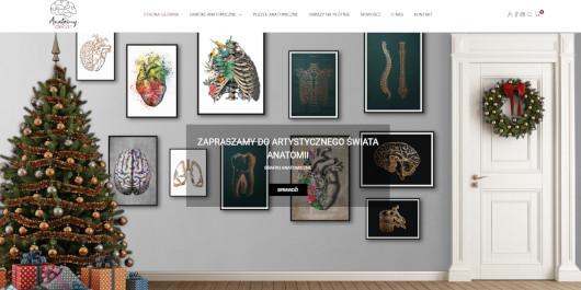 sklep internetowy anatomy decor srk